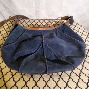Lucky Brand Vintage Inspired Blue Bag